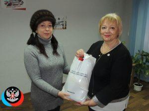 В рамках акции Общественного Движения «Донецкая Республика» «Всем миром» была оказана адресная помощь инвалиду II группы