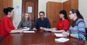 Состоялась очередная встреча представителей ЦИ ОД «ДР» с депутатом НС ДНР в рамках работы общественных приемных