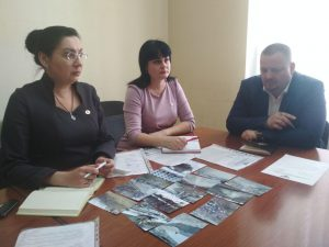 Рабочая встреча представителей ЦИ ОД «ДР» с депутатом Народного Совета ДНР