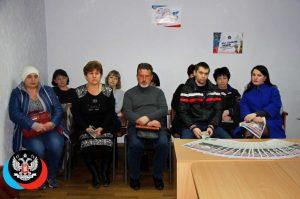 Депутат НС ДНР Александр Быкадоров провел прием граждан
