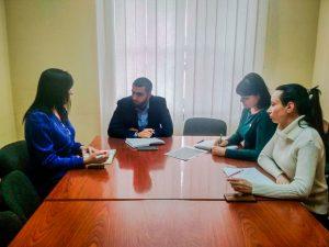 В Центральном исполкоме ОД «ДР» обсудили вопросы, поступающие в общественную приемную Председателя ОД «ДР» в Ждановке