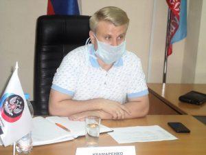 Министр МинАППиП Артем Крамаренко провел личный прием граждан в Горловке