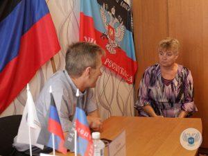 Заместитель министра транспорта ДНР Александр Сало ответил на вопросы жителей города Кировское